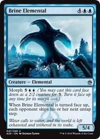 English Masters 25 MTG Magic Foil NM-Mint 1x Blue Elemental Blast