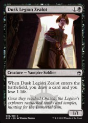 Dusk Legion Zealot on Channel Fireball