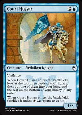 Court Hussar - Foil