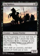 Erg Raiders - Foil on Channel Fireball