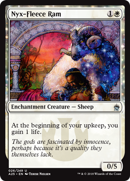 Nyx-Fleece Ram - Foil