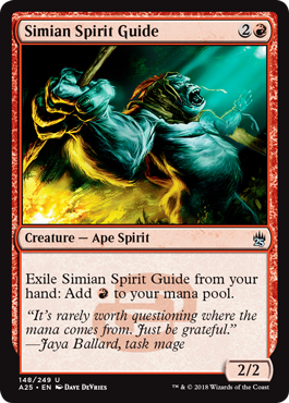 Simian Spirit Guide - Foil