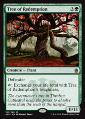Tree of Redemption - Foil
