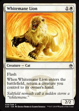 Whitemane Lion - Foil
