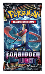 Pokemon Sun & Moon Forbidden Light Booster Pack
