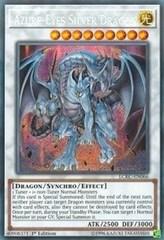 Azure-Eyes Silver Dragon - LCKC-EN066 - Secret Rare - 1st Edition on Channel Fireball