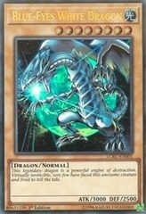 Blue-Eyes White Dragon (Version 3) - LCKC-EN001 - Ultra Rare - 1st Edition