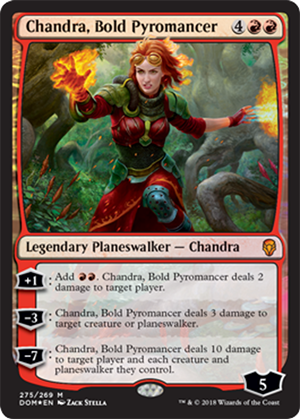 Chandra, Bold Pyromancer - Foil - Planeswalker Deck Exclusive