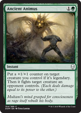 Ancient Animus - Foil