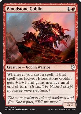 Bloodstone Goblin - Foil