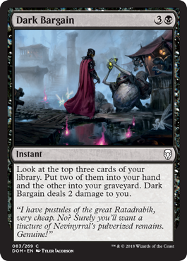 Dark Bargain - Foil
