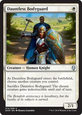 Dauntless Bodyguard - Foil