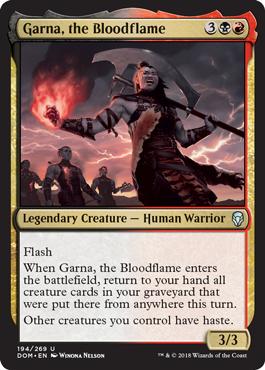 Garna, the Bloodflame - Foil