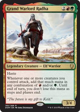 Grand Warlord Radha - Foil