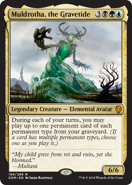 Muldrotha, the Gravetide - Foil