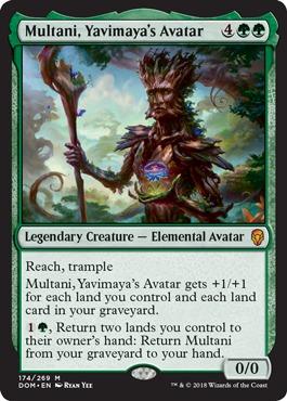 Multani, Yavimaya's Avatar - Foil