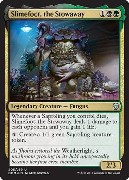 Slimefoot, the Stowaway - Foil