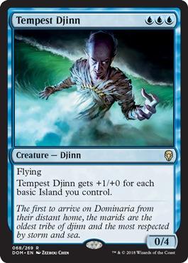 Tempest Djinn - Foil