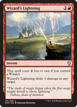 Wizards Lightning