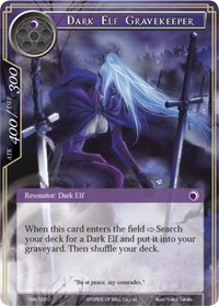 Dark Elf Gravekeeper - TSW-123 - U