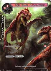 Red Fang Allosaurus (Full Art) - TSW-051 - U