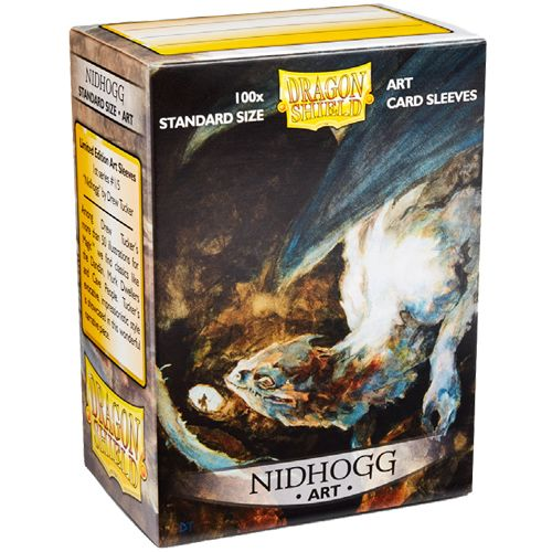 Dragon Shield Sleeves: Art Classic Nidhogg (Box Of 100) - Limited Edition
