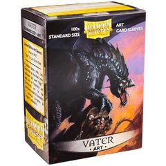 Dragon Shield Sleeves: Art Classic Vater (Box Of 100) - Limited Edition
