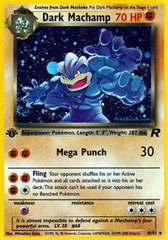 Dark Machamp - 10/82 - Holo Rare - 1st Edition on Channel Fireball