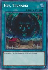 Hey, Trunade! - EXFO-EN062 - Secret Rare - Unlimited Edition