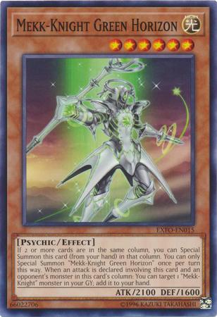 Mekk-Knight Green Horizon - EXFO-EN015 - Common - Unlimited Edition