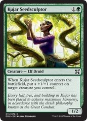 Kujar Seedsculptor on Channel Fireball