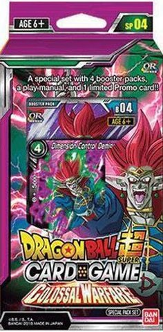 Dragon Ball Super - Series 4 Special Pack