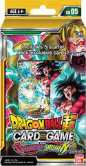Dragon Ball Super: Series 4 Starter Deck - The Crimson Saiyan Deck on Channel Fireball