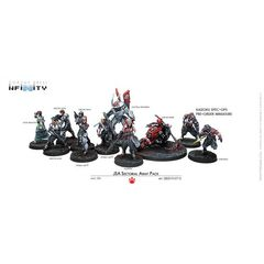 Infinity - Japanese Sectorial Army Pack With Pre-Order Exclusive Kaizoku Spec-Ops Figure
