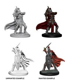 Pathfinder Battles Unpainted Minis - Female Knights/Gray Maidens