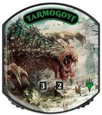 Ultra Pro - Relic Tokens: Eternal Collection - Tarmogoyf - Foil