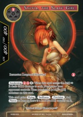 Sylvia, the Slave Girl - SDR6-003 - SR on Channel Fireball