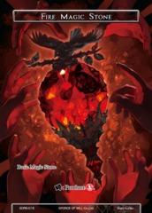 Fire Magic Stone - SDR6-015 - SR on Channel Fireball