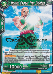 Martial Expert Tien Shinhan (Super Player Stamped) - BT2-083 - UC on Channel Fireball