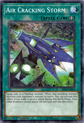 Air Cracking Storm - SP18-EN042 - Starfoil Rare - 1st Edition