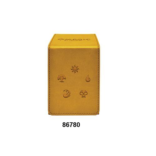Ultra Pro - Alcove Flip Box - Gold For Magic