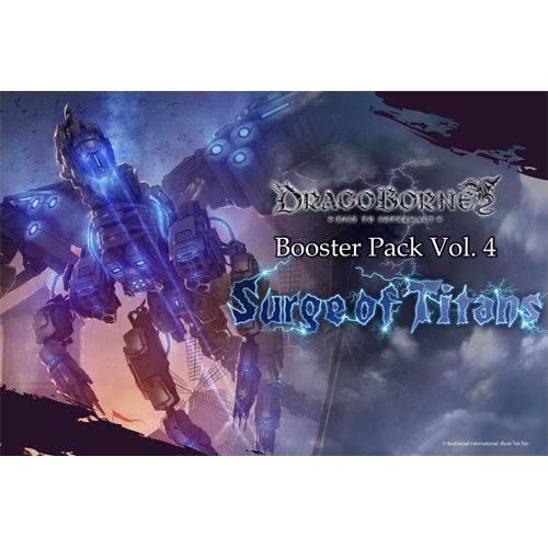Dragoborne Rise To Supremacy: Booster - Surge Of Titans - Booster Box