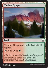 Timber Gorge - Planeswalker Deck Exclusive