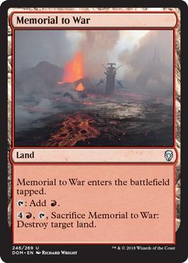 Memorial to War - Foil
