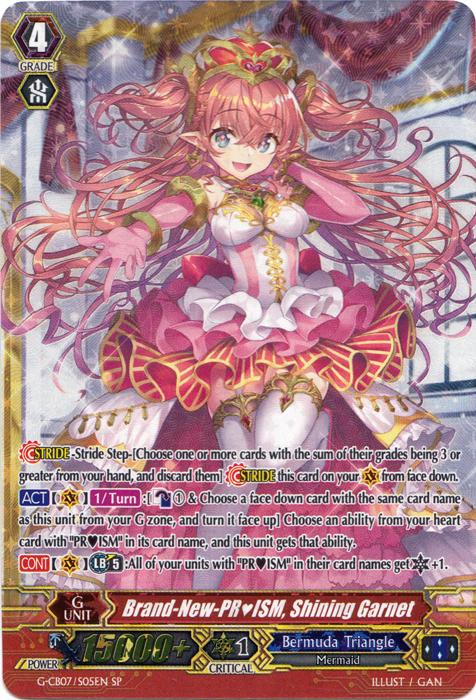 Brand-New-PRISM, Shining Garnet - G-CB07/S05EN - SP