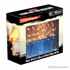 Dungeons & Dragons: Spell Effects Miniatures - Wall Of Fire And Wall Of Ice