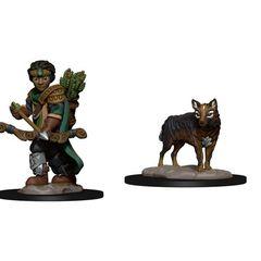 Wardlings: Boy Ranger And Wolf