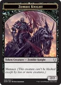 Zombie Knight Token