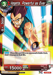 Vegeta, Powerful as Ever (Foil Version) - P-030 - PR