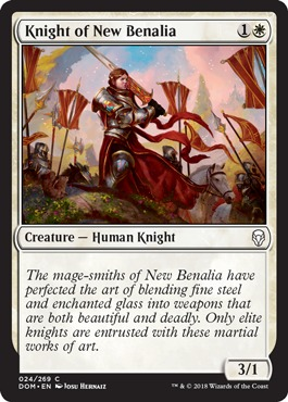 Knight of New Benalia - Foil